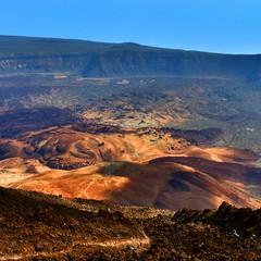 Caldera las canada del Teide