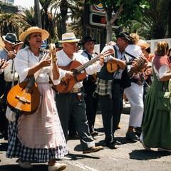Dia de Canarias a Puerto de la Cruz