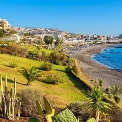 Playa Fañabé a Tenerife