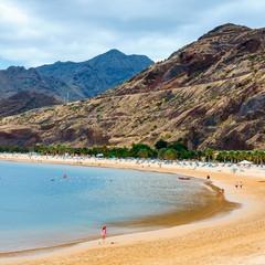 Playa de Las Teresitas a Santa Cruz de Tenerife