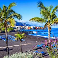 Playa Jardin a Puerto de la Cruz