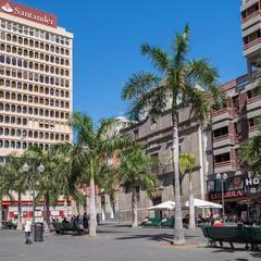 Plaza Candelaria a Santa Cruz de Tenerife