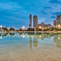 Plaza de España a Santa Cruz