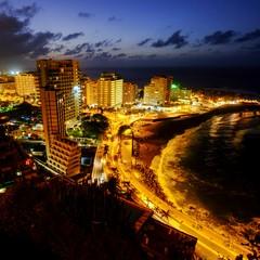 Vista panoramica di Puerto de la Cruz